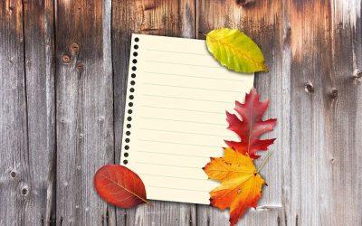 Thanksgiving All November: List
